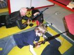 testování zbraně našeho klubu